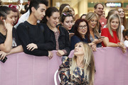 Sarah Jessica Parker meets fans at Highpoint Shopping Centre on October 23, 2019 in Melbourne, Australia.