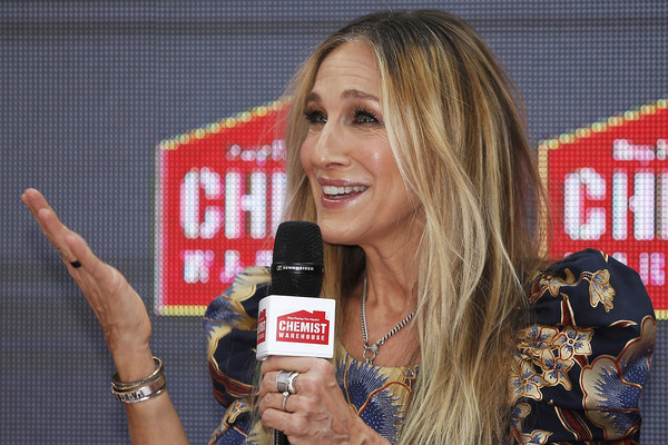 Sarah Jessica Parker Greets Fans At Highpoint Shopping Centre