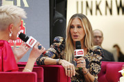 Sarah Jessica Parker (R) attends Highpoint Shopping Centre on October 23, 2019 in Melbourne, Australia.