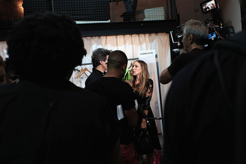 Sarah Jessica Parker Tracy Reese - Backstage - Spring 2016 New York Fashion Week