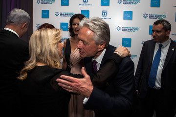 Sarah Netanyahu The Second Annual Genesis Prize Award Ceremony Honoring Michael Douglas