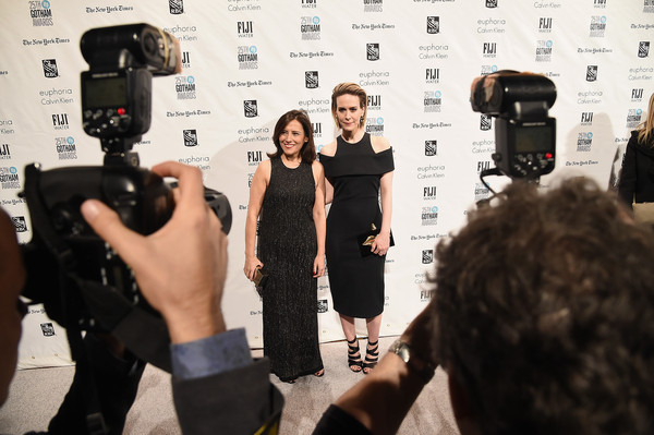 25th Annual Gotham Independent Film Awards - Arrivals [filmmaking,cinematographer,photography,fashion,videographer,cameras optics,journalist,camera operator,camera accessory,film crew,sarah paulson,executive director,joana vicente,new york city,cipriani wall street,ifp,l,gotham independent film awards - arrivals]