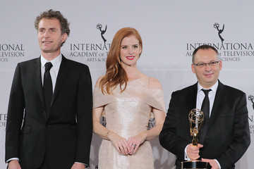 Sarah Rafferty 44th International Emmy Awards - Press Room