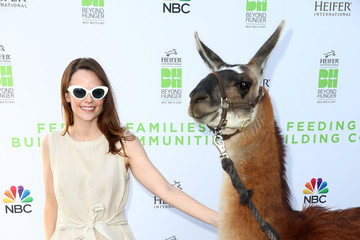 Sarah Ramos Beyond Hunger: West Meets East Brought to You by NBC Universal and Heifer International