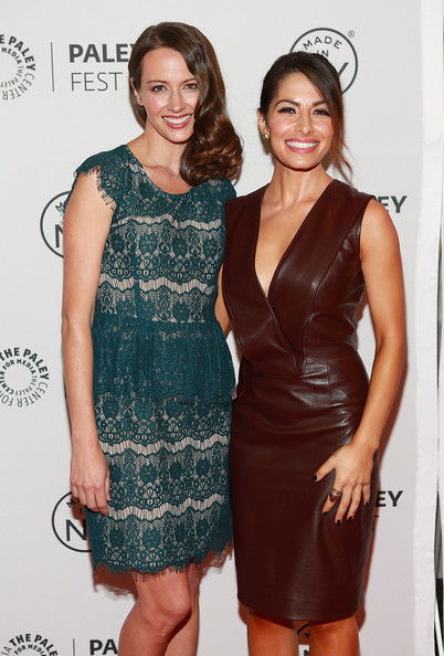 Sarah Shahi Photos Photos - 'Person of Interest' Cast at PaleyFest