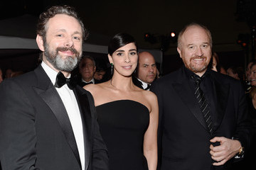 Sarah Silverman Michael Sheen 88th Annual Academy Awards - Governors Ball