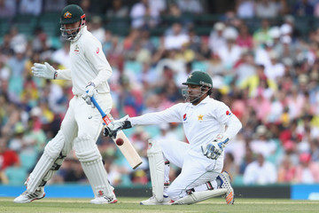 Sarfraz Ahmed Australia v Pakistan - 3rd Test: Day 1