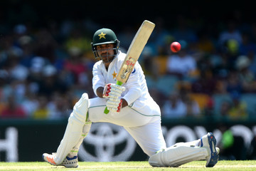 Sarfraz Ahmed Australia v Pakistan - 1st Test: Day 3