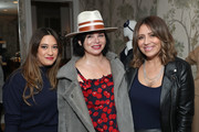 (L-R) Mercedes Laporte, Karen Duffy, and Ashley Freeborn attend the launch of Smash + Tess X Carole Radziwill collaboration at Crosby Street Hotel on January 14, 2020 in New York City.