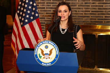 Sasha Cohen USA Embassy Seoul Reception for the PyeongChang 2018 Winter Olympic Games
