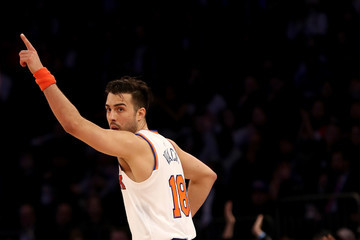 Sasha Vujacic Washington Wizards v New York Knicks