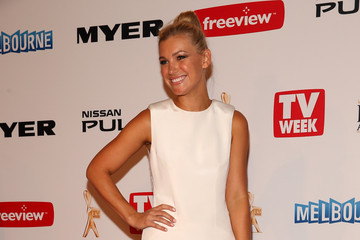 Saskia Hampele 2013 Logie Awards - Arrivals