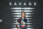 Toni Garrn attends Savage X Fenty Show Presented By Amazon Prime Video - Arrivals at Barclays Center on September 10, 2019 in Brooklyn, New York.