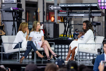 Savannah Guthrie Michelle Obama Celebrates International Day Of The Girl On NBC's 'Today'