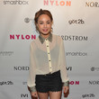 Savannah Jayde Celebs Celebrate Nylon's Young Hollywood Issue — Part 2