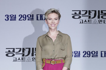 Scarlett Johansson 'Ghost In The Shell' Seoul Press Conference