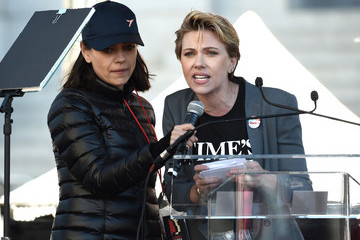 Scarlett Johansson 2018 Women's March Los Angeles