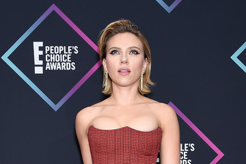 Scarlett Johansson People's Choice Awards 2018 - Press Room
