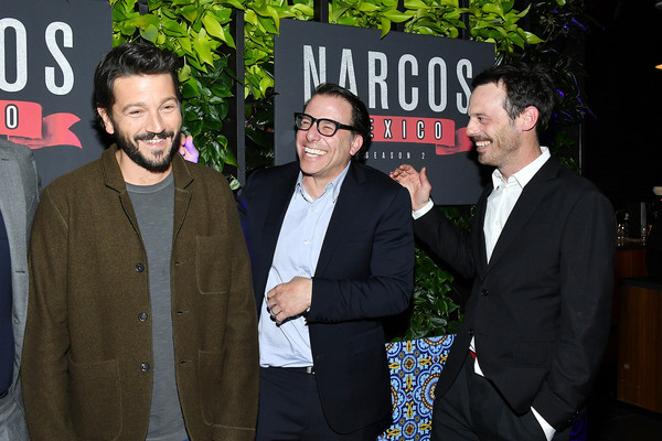 """Premiere Of Netflix's """"Narcos: Mexico"""" Season 2 - After Party [narcos: mexico,season,event,premiere,white-collar worker,scoot mcnairy,doug miro,diego luna,netflix home theater,netflix,party,premiere,party,scoot mcnairy,diego luna,doug miro,photography,netflix,livingly media,image,photojournalism,contemporary art gallery]"""