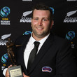 Scott Cameron ASB Rugby Awards 2018