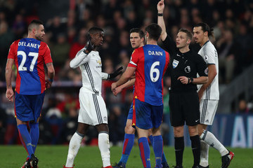 Scott Dann Crystal Palace v Manchester United - Premier League
