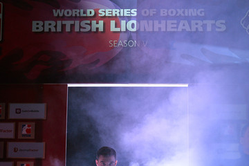 Scott Fitzgerald British Lionhearts v Russia - World Series of Boxing