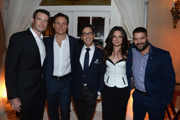 Scott Foley Guillermo Diaz People/TIME WHCD Cocktail Party