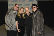 """(L-R) Johnathon Arndt, Tracie Hamilton, Scott Hamilton and Newman Arndt attend the second annual """"An Evening Of Scott Hamilton & Friends"""" hosted by Scott Hamilton to benefit The Scott Hamilton CARES Foundation on November 19, 2017 in Nashville, Tennessee."""