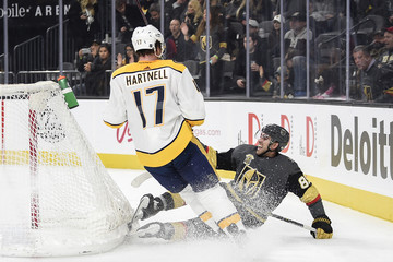 Scott Hartnell Nashville Predators v Vegas Golden Knights