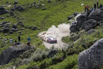 Scott Martin FIA World Rally Championship Portugal - Day Three