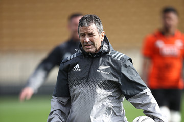 Scott Mc Leod New Zealand All Blacks Training Session