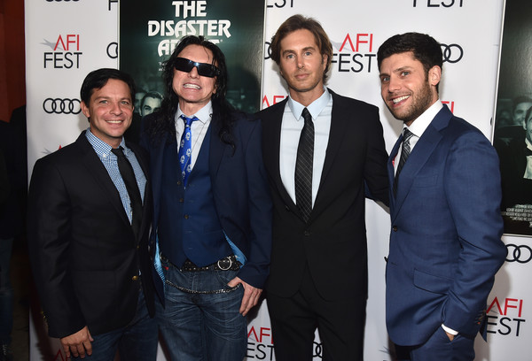AFI FEST 2017 Presented by Audi - Screening of 'The Disaster Artist' - Red Carpet [premiere,event,suit,white-collar worker,michael weber,greg sestero,tommy wiseau,scott neustadter,l-r,red carpet,audi,afi fest 2017,audi - screening of the disaster artist,screening]