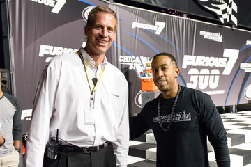 Scott Paddock Celebs Attend the 'Furious 7' 300 NASCAR Race at Chicagoland Speedway with Grand Marshall Ludacris