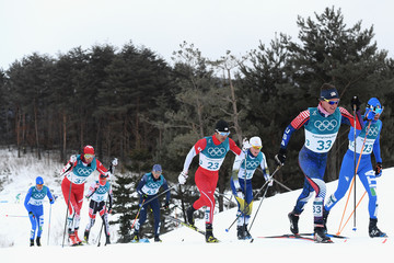 Scott Patterson Cross-Country Skiing - Winter Olympics Day 2