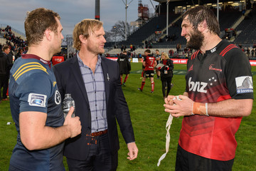 Scott Robertson Super Rugby Rd 15 - Crusaders v Highlanders