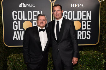 Scott Stuber Ted Sarandos 77th Annual Golden Globe Awards - Executive Arrivals