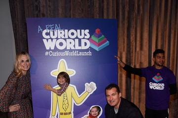 Scott Stuber 'A Real Curious World' HMH App Launch Event Is Held at The Intrepid Museum