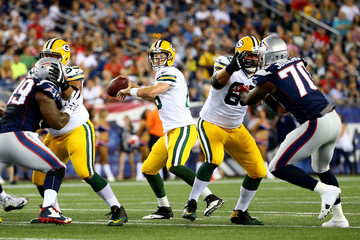 Scott Tolzien Green Bay Packers v New England Patriots
