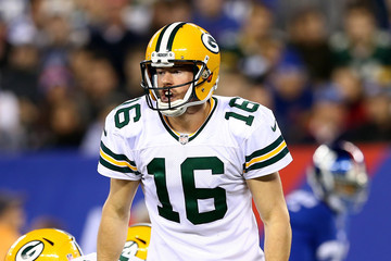Scott Tolzien Green Bay Packers v New York Giants