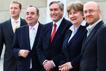 Tavish Scott Scottish Political Leaders Show Their Support For WWF Earth Day
