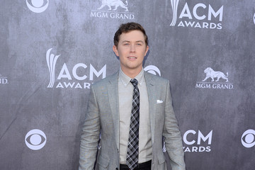 Scotty McCreery Arrivals at the Academy of Country Music Awards — Part 2