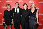 (L-R) Actress Virginia Madsen, filmmaker David O. Rusell, honoree Megan Ellison and actress Elisabeth Rohm attend the Screen Actors Guild Foundation 30th Anniversary Celebration at Wallis Annenberg Center for the Performing Arts on November 5, 2015 in Beverly Hills, California.