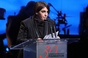 Honoree Megan Ellison speaks onstage during the Screen Actors Guild Foundation 30th Anniversary Celebration at Wallis Annenberg Center for the Performing Arts on November 5, 2015 in Beverly Hills, California.