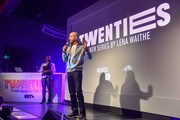 """BET Networks President Scott Mills speaks on stage at the """"BET Twenties"""" produced by Lena Waithe Screening during the Sundance Film Festival on January 27, 2020 at Park City Live in Park City, Utah."""