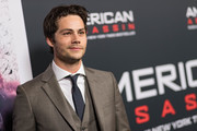 """Dylan O'Brien arrives to the screening of CBS Films And Lionsgate's """"American Assassin"""" at TCL Chinese Theatre on September 12, 2017 in Hollywood, California."""