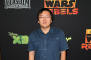 """Actor Masi Oka attends the Screening of Disney XD's """"Star Wars Rebels: Spark of Rebellion"""" at the AMC Century City 15 theater on September 27, 2014 in Century City, California."""