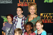 """Actress Joely Fisher attends the Screening of Disney XD's """"Star Wars Rebels: Spark of Rebellion"""" at the AMC Century City 15 theater on September 27, 2014 in Century City, California."""
