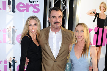 Tom Selleck with smuk, Kone  Jillie Mack