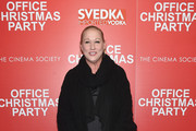 "Amy Sacco attends the Paramount Pictures with The Cinema Society & Svedka host a screening of ""Office Christmas Party"" at Landmark Sunshine Cinema on December 5, 2016 in New York City."