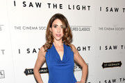 """Sarah Megan Thomas attends The Cinema Society With Hestia & St-Germain host a screening of Sony Pictures Classics' """"I Saw the Light"""" at Metrograph on March 24, 2016 in New York City."""
